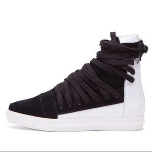 Jeffrey Campbell Enora lace-up sneakers (US 8)